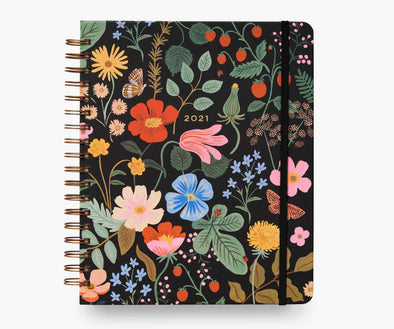2021 Strawberry Fields Hardcover Spiral Planner