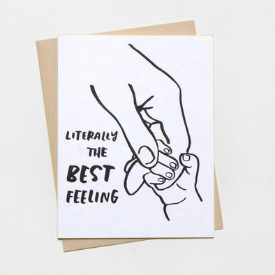 Tiny Hand Greeting Card