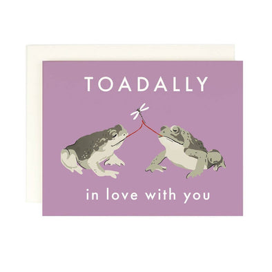 Toadally In Love With You Greeting Card