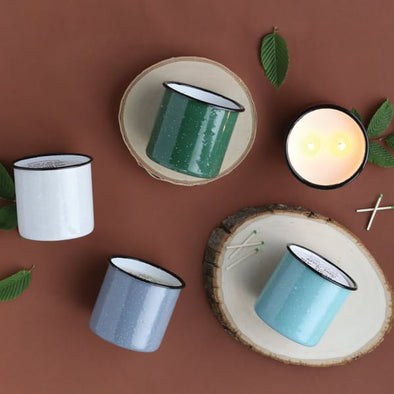 Alpine Enamelware 9.5 oz Candles