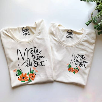Vote Them Out Women's Pocket Tee