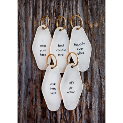 Happily Ever After Keytag