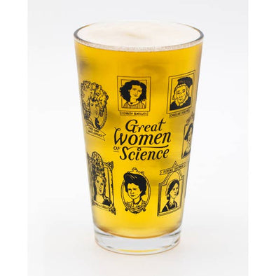 Women of Science Pint Glass