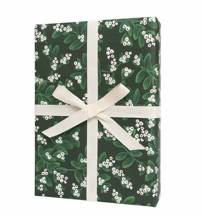 Evergreen Mistletoe Wrapping Sheets