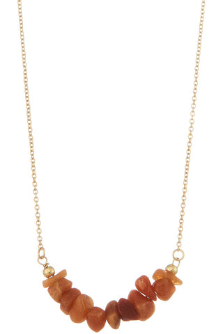 AMBER LIGHT NECKLACE