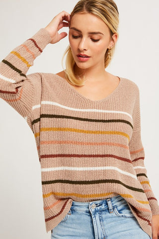 CANDY STRIPE SWEATER