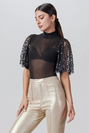 SALOME SHEER BODYSUIT