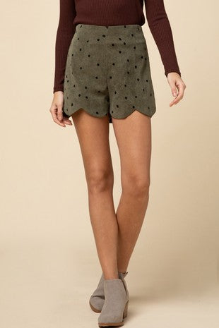 DOTTIE CORDUROY SHORTS