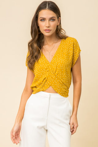 GOLDEN DAY CROP TOP