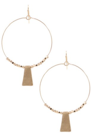 AIDA HOOP EARRINGS