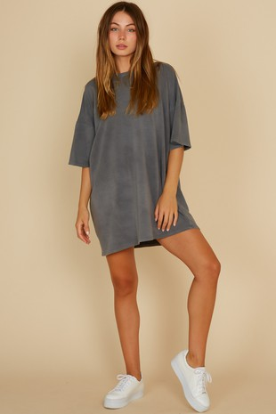 STOMPING GROUNDS T-SHIRT DRESS