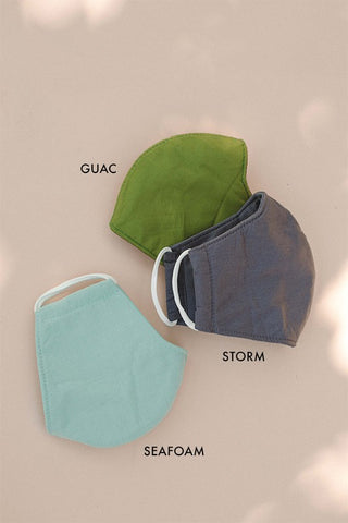 FACE MASK - COOL SOLIDS