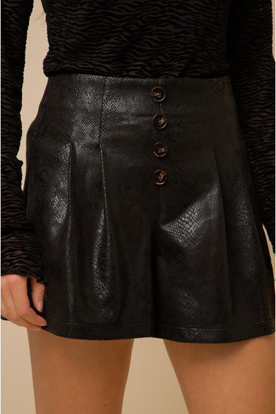 CHANNING EMBOSSED SHORTS