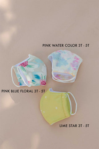 TODDLER FACE MASK - NEONS