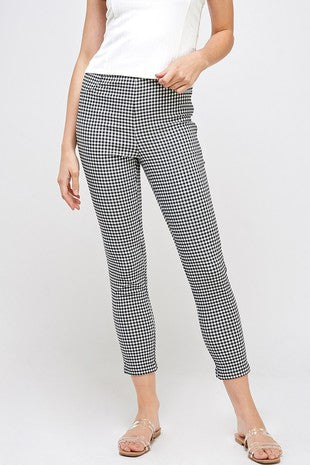 MAYBERRY GINGHAM PANTS