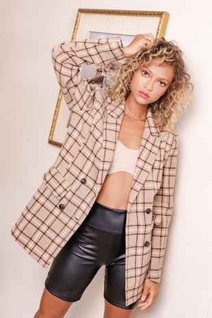 MICAH PLAID SHIRT JACKET