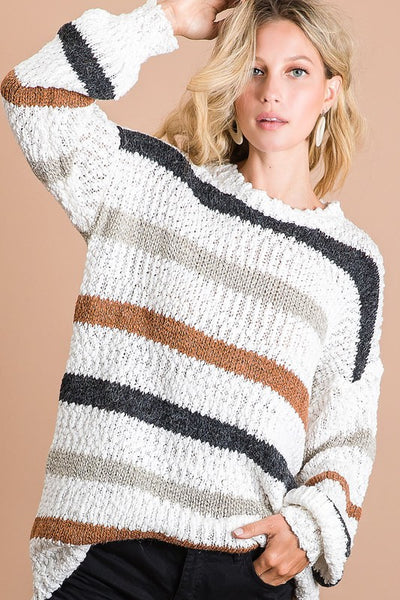 RORY STRIPED SWEATER