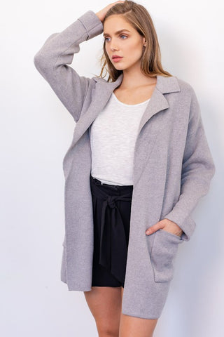 OUT AND ABOUT SWEATER JACKET