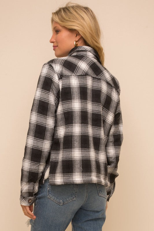 HOLLAND PLAID JACKET