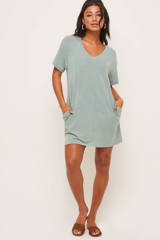 KERRI T-SHIRT DRESS
