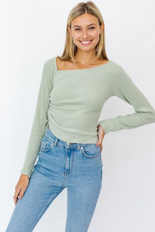 IZZY LONG SLEEVE TOP