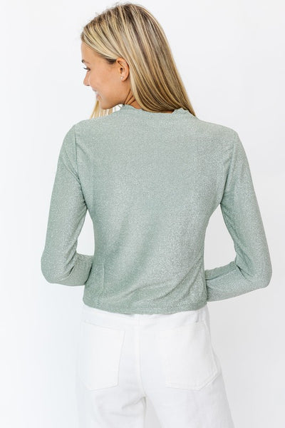 MORNING FROST LONG SLEEVE TOP