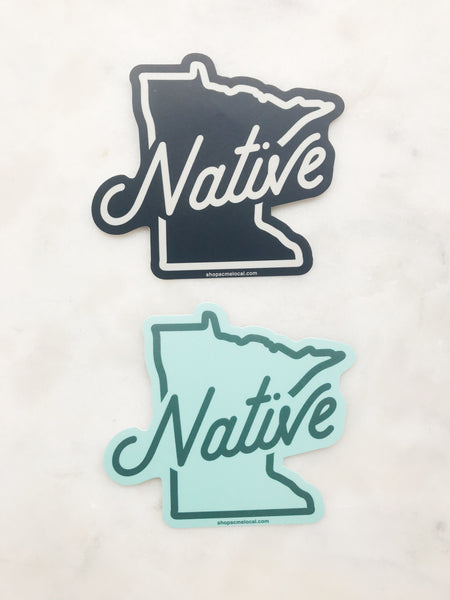 MN NATIVE STICKER