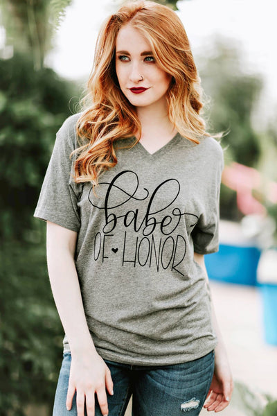 BABE OF HONOR TEE