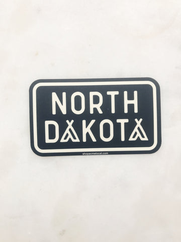 ND TENT STICKER