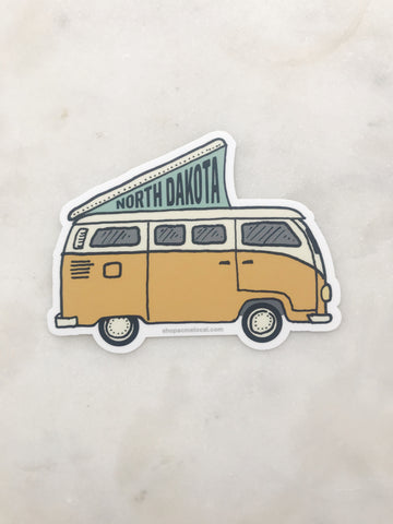 ND VAN STICKER