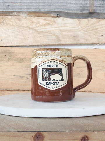 ND BUFFALO CAMPER MUG