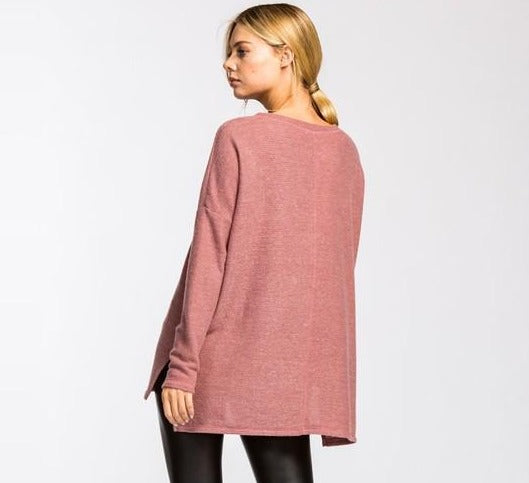 EVA THERMAL KNIT TOP