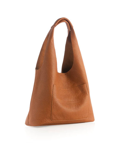 ARDEN DAY TOTE - SADDLE