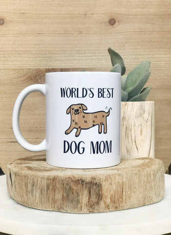 BEST DOG MOM MUG