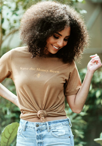 SAVE THE HONEY BEES TEE
