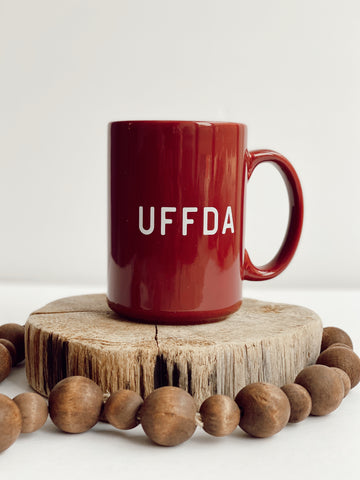15 OZ. UFFDA COFFEE MUG