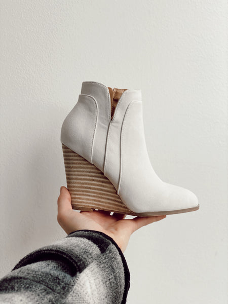 WINDSOR WEDGE BOOTIES