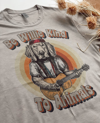 WILLIE KIND RAINBOW TEE