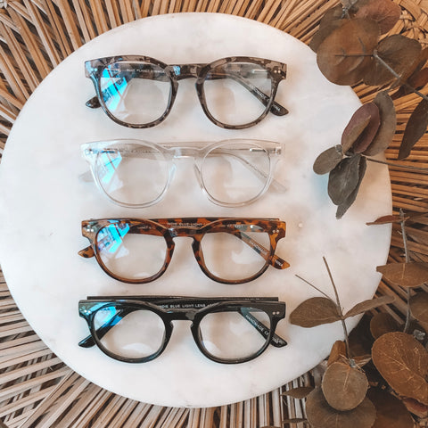 INDIE BLUE LIGHT GLASSES - CLEAR