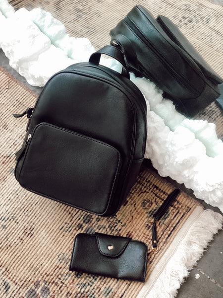 METRO BACKPACK + WALLET SET