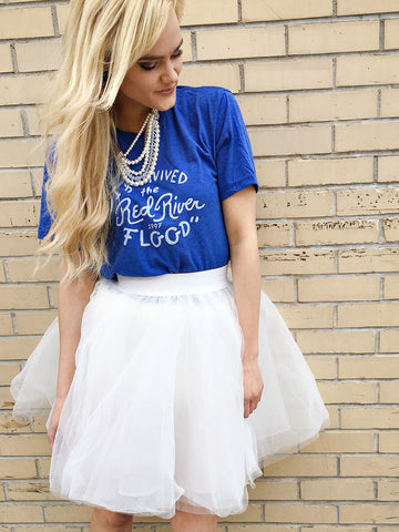 RED RIVER FLOOD TEE