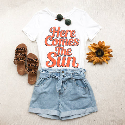 HERE COMES THE SUN TEE