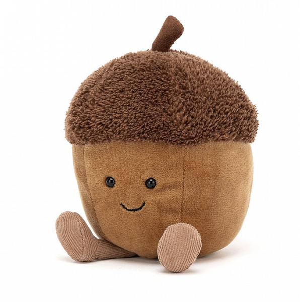 AMUSEABLES ACORN PLUSH 4""