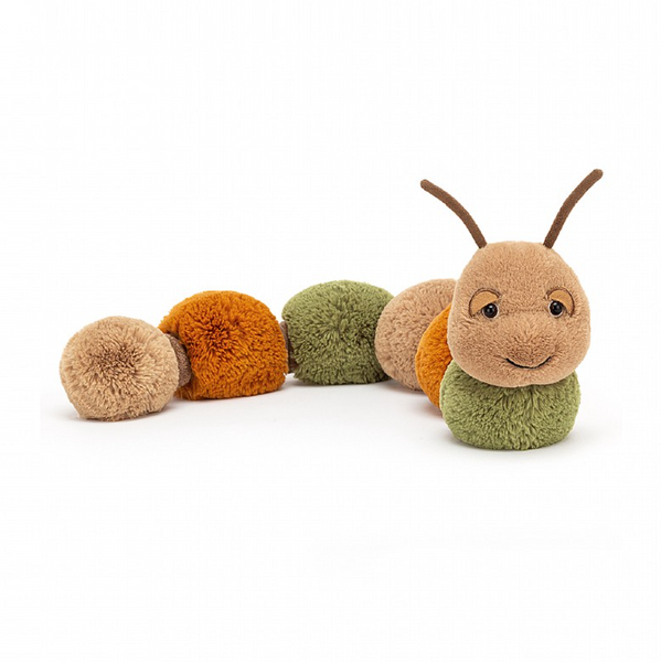FIGGY CATERPILLAR PLUSH 24""