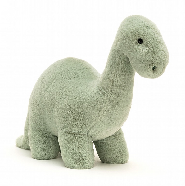 FOSSILLY BRONTOSAURUS PLUSH 10""