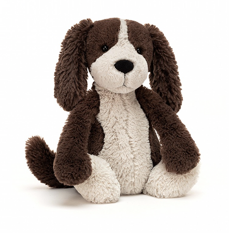 BASHFUL FUDGE PUPPY PLUSH 12""