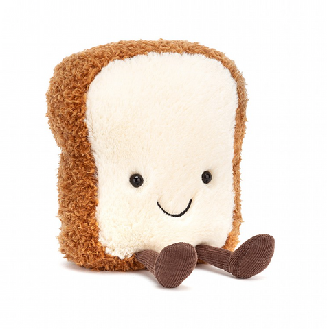 AMUSEABLES TOAST PLUSH 6""