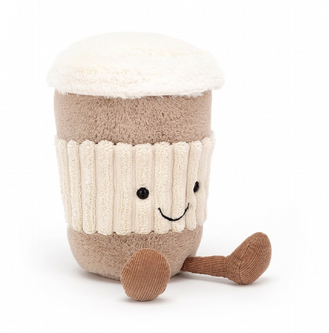 AMUSEABLES COFFEE PLUSH 6""