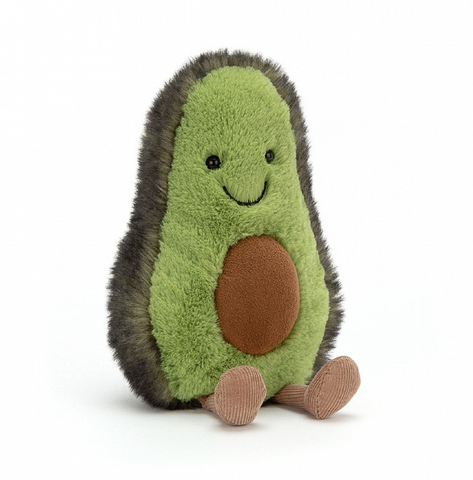 AMUSEABLES AVOCADO PLUSH 8""