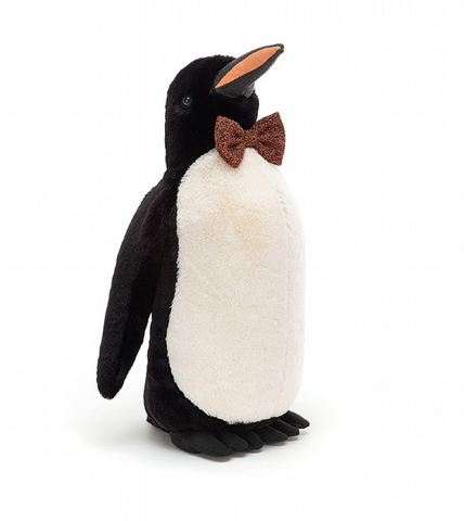 JAZZY PENGUIN PLUSH 12""